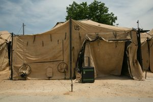 US Army tent