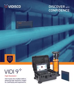 VIDI 9 portable x-ray system